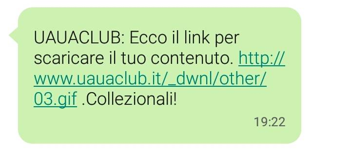 uauaclub sms