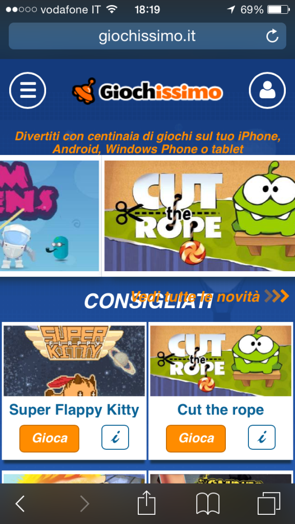www.giochissimo.it disattivare