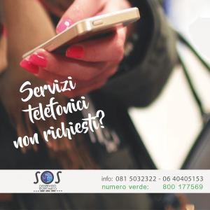 servizi telefonici non richiesti