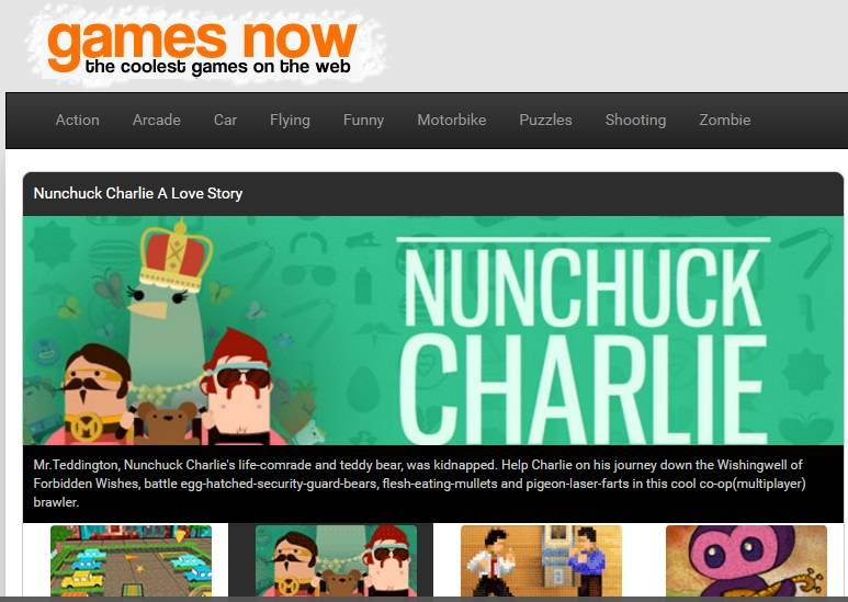 Games Now abbonamento