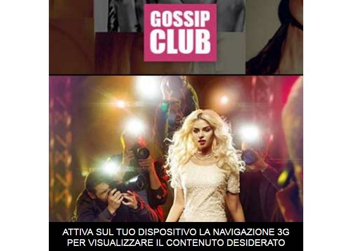 Gossip Club abbonamento