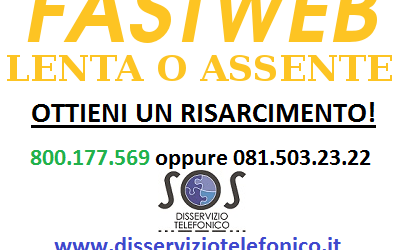 Fastweb assenza linea internet