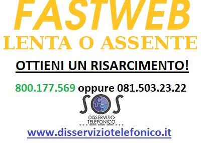 Disdetta Fastweb per servizio assente