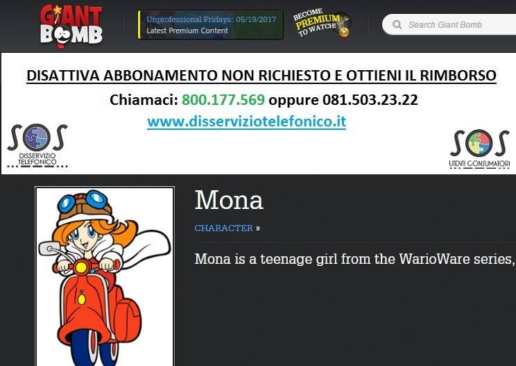 Mona Games abbonamento
