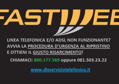 Linea telefonica non funzionante Fastweb