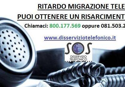 Ritardo migrazione telefonica