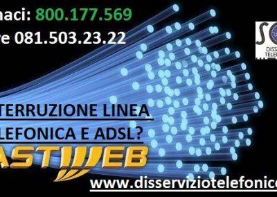 Interruzione Fastweb linea telefonica