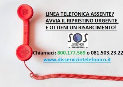 Linea telefonica assente