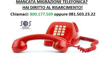 Mancata migrazione telefonica Fastweb