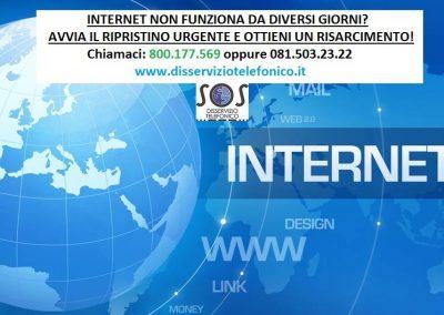 Internet non funziona, come ripristinare internet