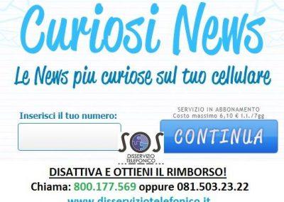 CuriosiNews abbonamento non richiesto