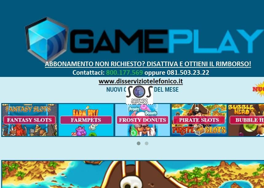 Gamecrash abbonamento non richiesto