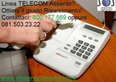 Problema Linea Telecom Assente