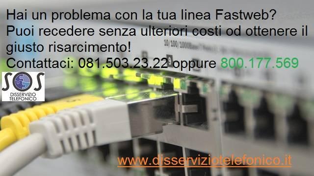 Problema Linea Fastweb Intermittente