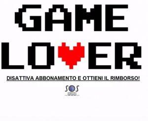 gamelover disattivare