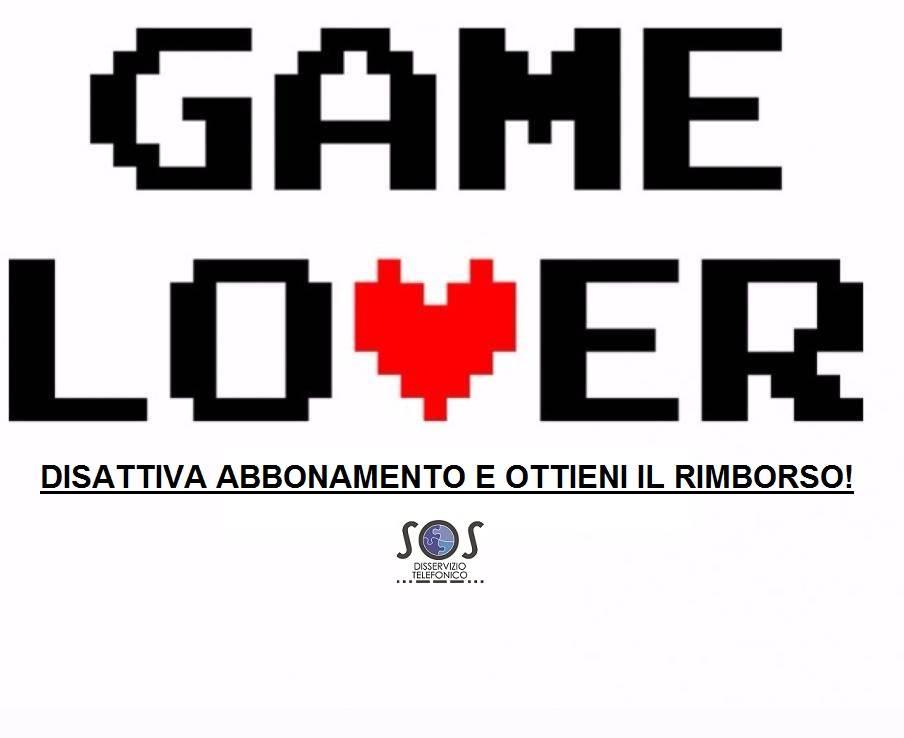 gamelover disattivazione