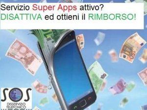 Super apps, disattiva ed ottieni il rimborso