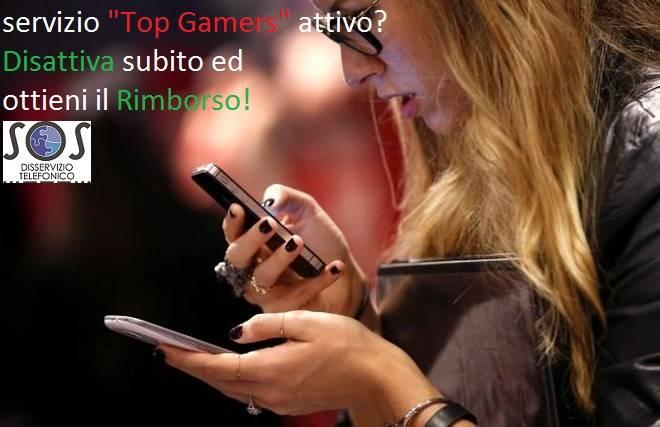 """Top Gamers"": Disattiva ed ottieni il Rimborso"