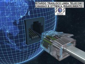 ritardo trasloco linea fibra telecom