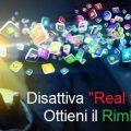 Disattiva Real time sport
