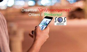 Only brand games, servizio non richiesto