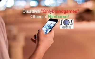 "Disattiva ""Only brand games"" ed ottieni il Rimborso"