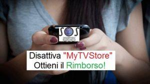 MyTVStore servizio non richiesto