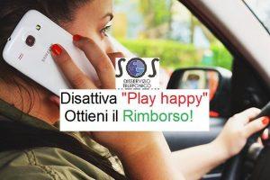 Play happy servizio non richiesto
