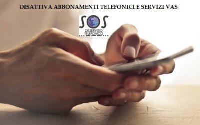 Come disattivare gli abbonamenti telefonici VAS
