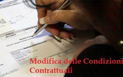 Modifica delle condizioni contrattuali: come evitare i costi di recesso