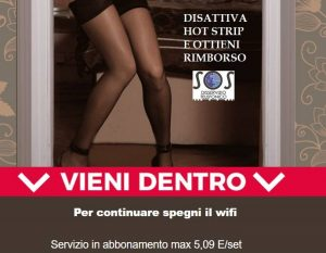 disattiva hot strip