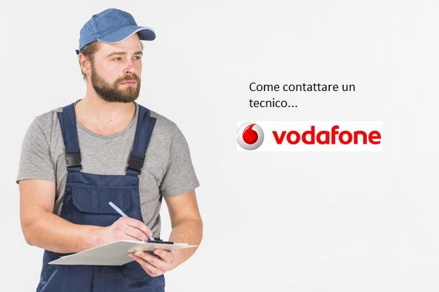 Contattare un tecnico Vodafone